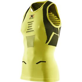 X-Bionic The Trick Running Løbetræje ærmeløs Herrer gul/grøn